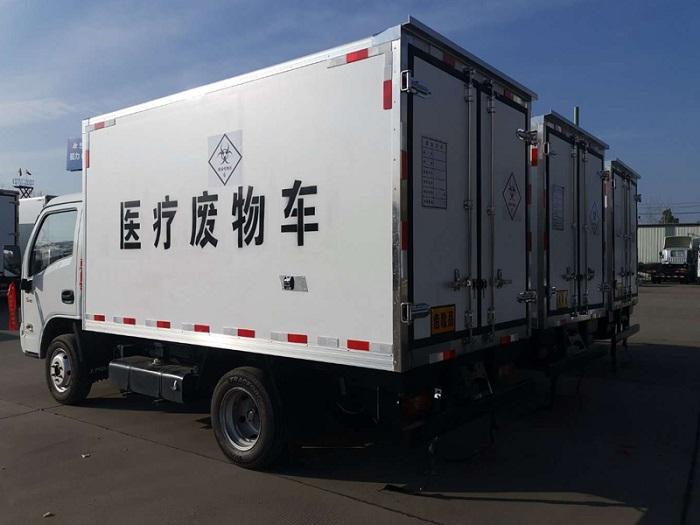 国六跃进小福星3米2医疗废物转运车图片七