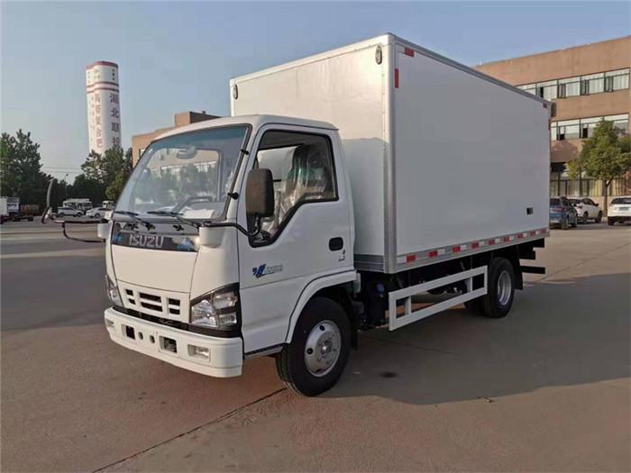 庆铃五十铃600P冷藏车(厢长5米)图片一