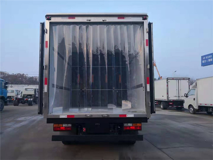 大运奥普力冷藏车(厢长4.05米)图片七