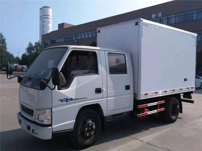江铃顺达双排座冷藏车(厢长3.2米)图片三