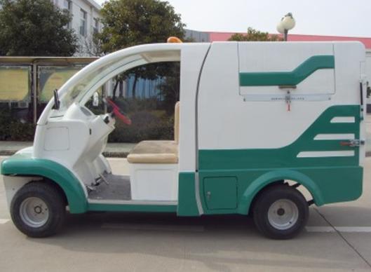 小型四轮电动垃圾清运车