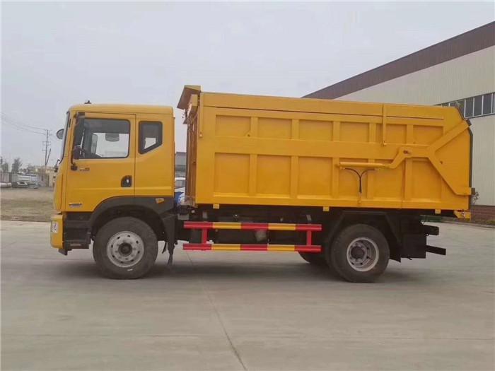 D9对接垃圾车17方带翼展中置顶图片三