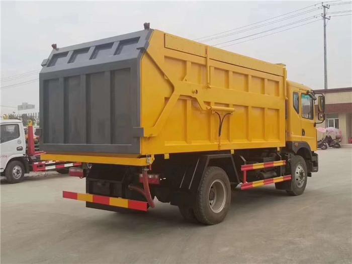 D9对接垃圾车17方带翼展中置顶图片八