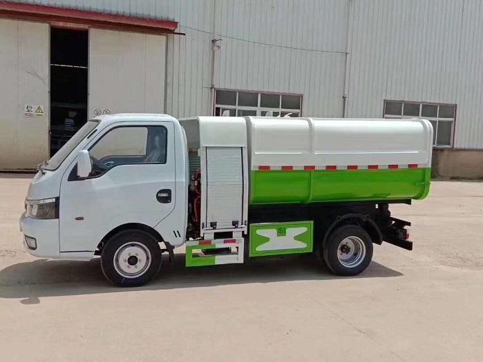纯电动3.5方自装卸式垃圾车图片二