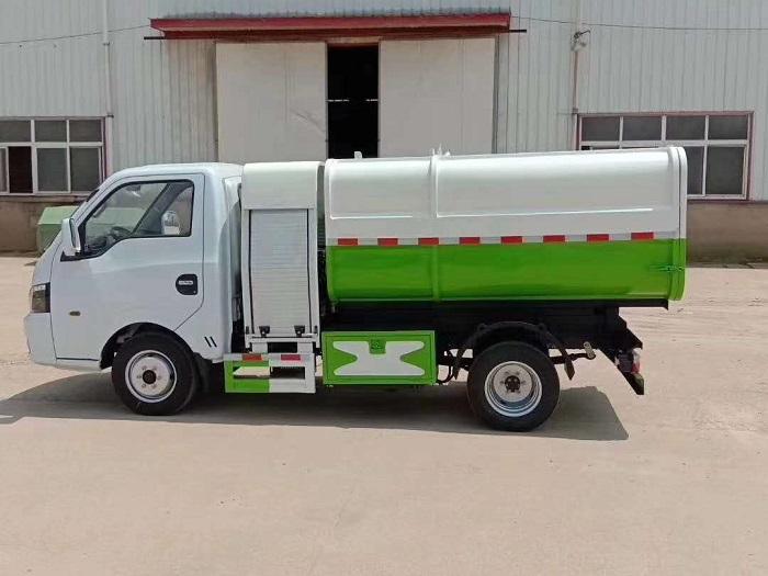 纯电动3.5方自装卸式垃圾车图片三