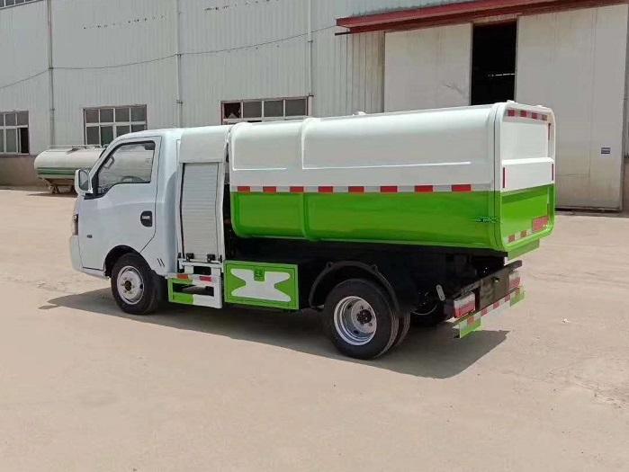 纯电动3.5方自装卸式垃圾车图片四