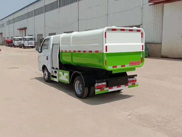 纯电动3.5方自装卸式垃圾车图片五