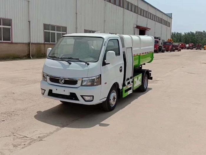 纯电动3.5方自装卸式垃圾车图片九
