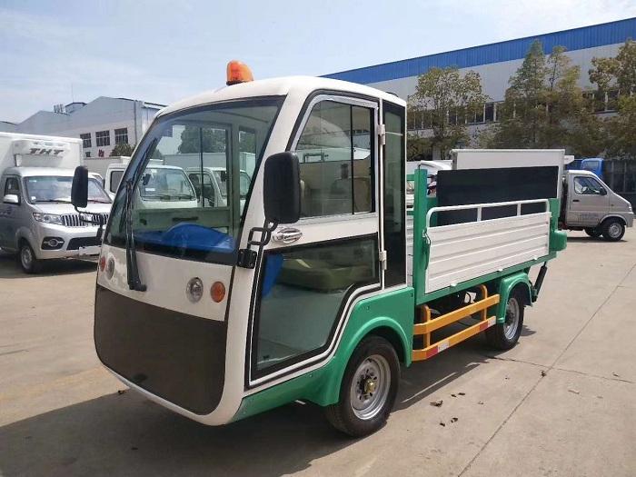 纯电动环保型四轮压缩垃圾车图片