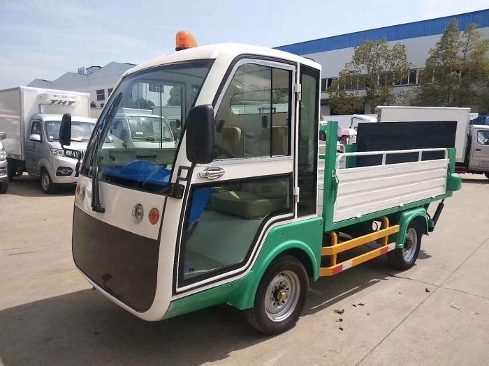 纯电动环保型四轮压缩垃圾车图片九