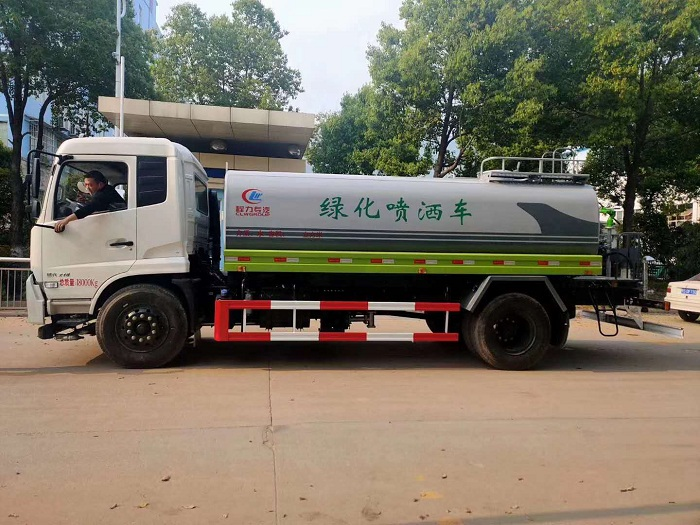 东风天锦国六13.2方新款洒水车图片四