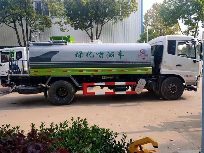 东风天锦国六13.2方新款洒水车图片五