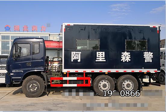 东风六驱越野厢式运兵车出发西藏阿里