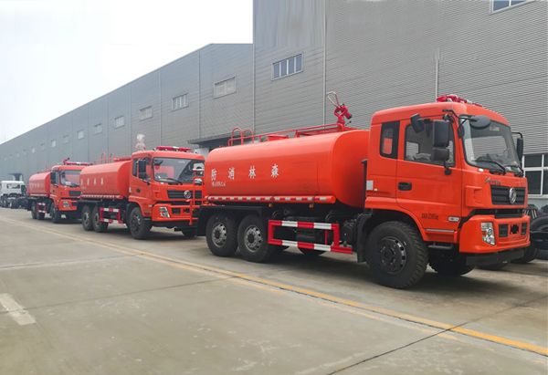 东风四驱森林消防车配置及消防炮使用说明