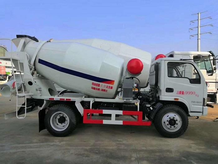 上汽跃进3-7方混凝土搅拌运输车
