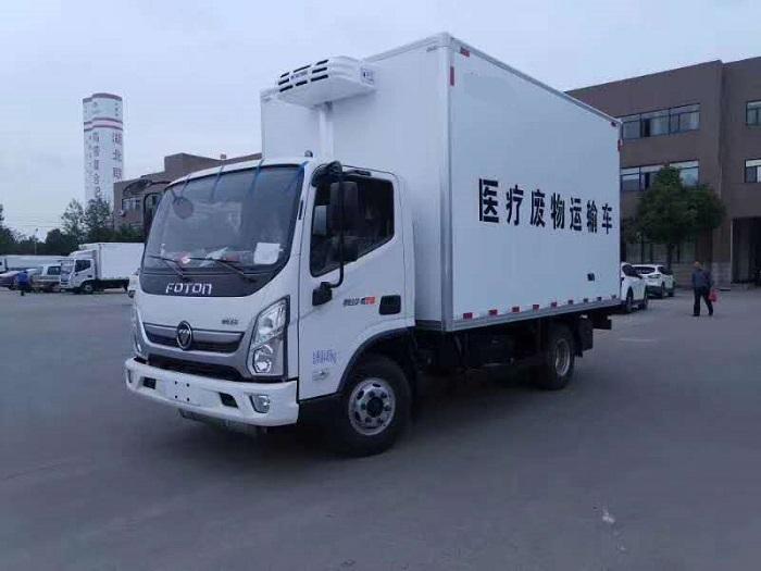福田奥铃4米1蓝牌医疗废物转运车(国六)图片一