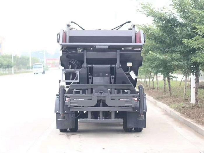 国六东风多利卡7方高位无泄露自装卸压缩垃圾车图片七