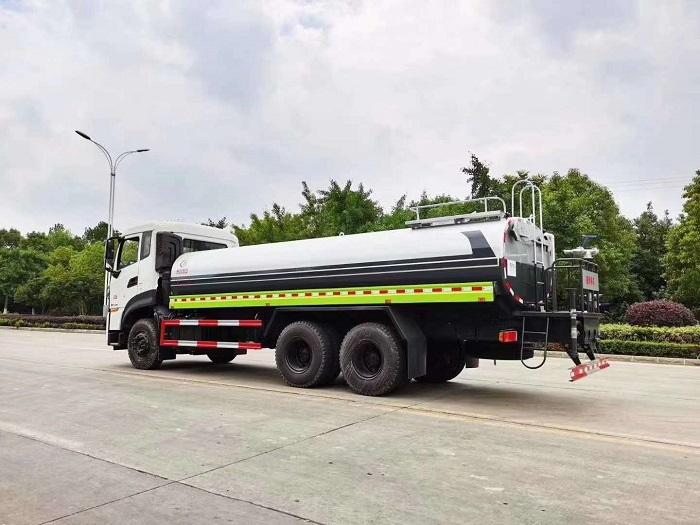 国六东风天龙KL后双桥18吨绿化喷洒车图片九