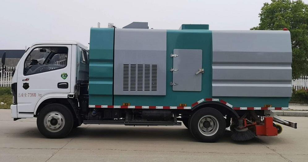 东风D7新式竖直滤筒吸尘车图片三
