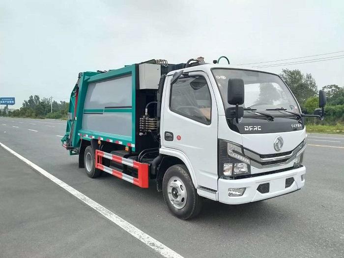国六东风D6压缩式垃圾车图片一