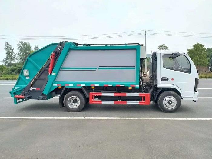 国六东风D6压缩式垃圾车图片二