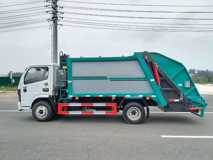 国六东风D6压缩式垃圾车图片八