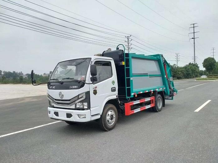 国六东风D6压缩式垃圾车图片九
