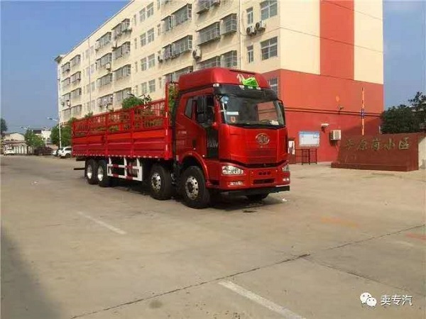 高端大型气瓶运输车——解放J6M前四后八气瓶运输车即将上市