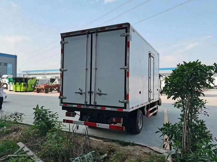 国六江铃凯运冷藏车图片九