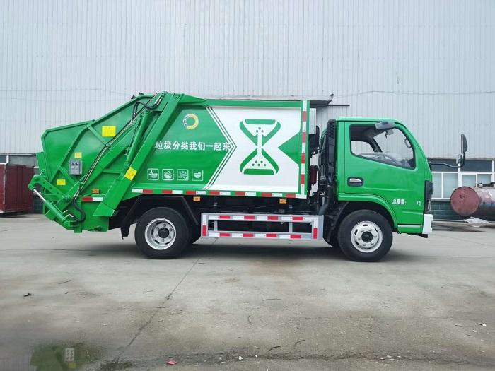 东风小多利卡4-5方压缩垃圾车图片二