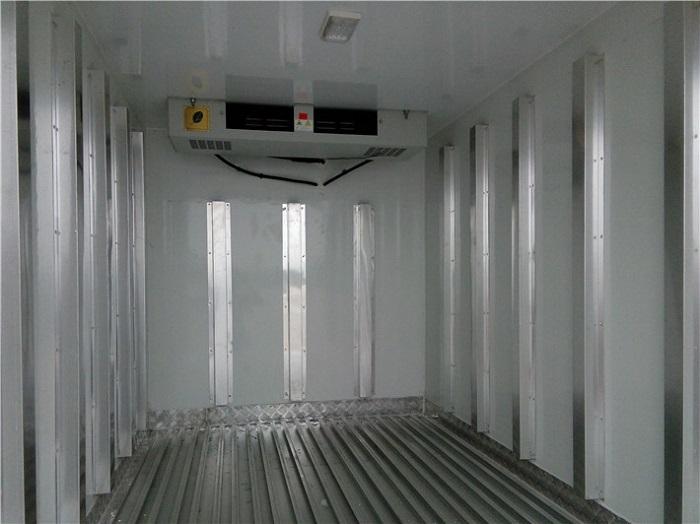 冷藏车5面铝合金通风槽图片二