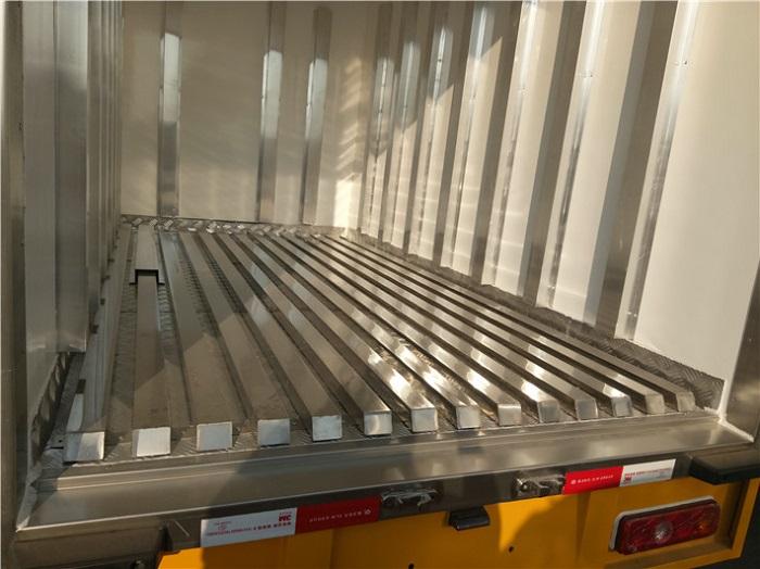 冷藏车5面不锈钢通风槽