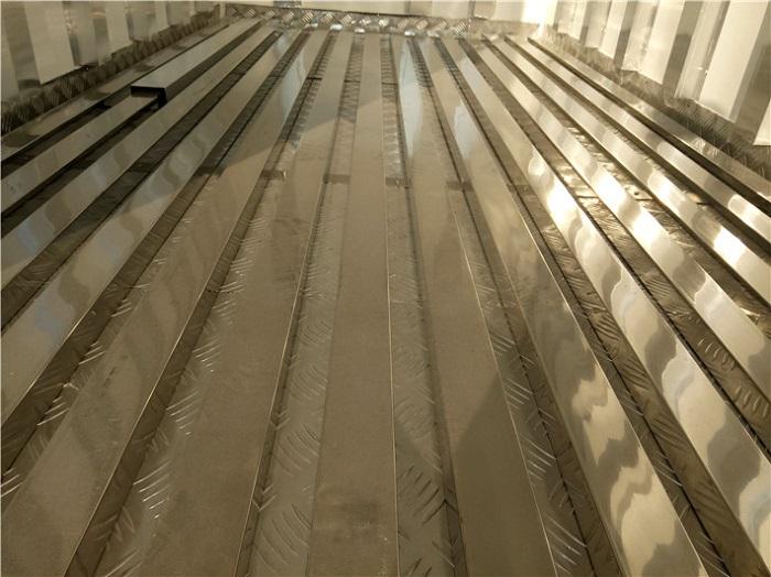 冷藏车5面不锈钢通风槽图片二