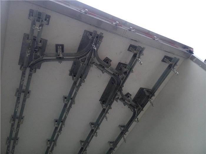 冷藏车对接式导轨