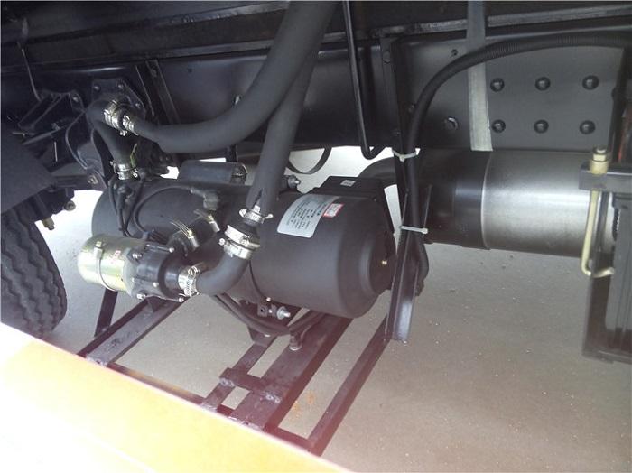 冷藏车加热燃油锅炉(送盒饭保温用)图片七