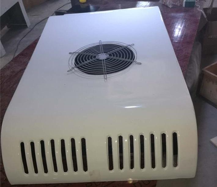 凯利KL180D冷藏机组面包冷藏车顶置备电一体机