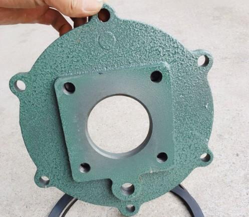 洒水泵配件——洒水泵泵壳后盖及进口法兰