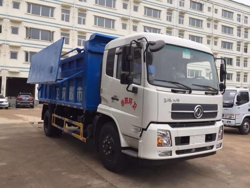 东风天锦15-17方对接垃圾车