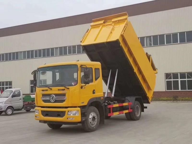 东风多利卡D9(12方)对接垃圾车