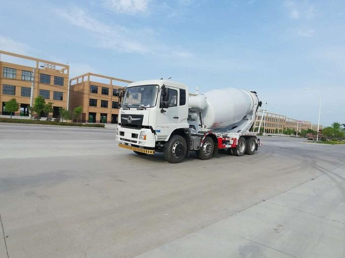 东风商用拓行D3V (天锦新款) 8-10-12方轻量化混凝土搅拌车图片